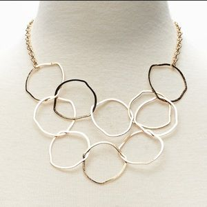 Banana Republic Jewelry - NWT Banana Republic Link Sculpt Statement Necklace